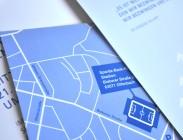 Witschaftsförderung Offenbach - hochwertige Einladungskarte