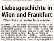 Liebesgeschichte in Wien und Frankfurt
