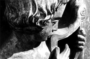 Statue-Gruft