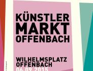 """Plakat """"Künstlermarkt Offenbach"""""""